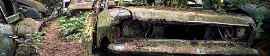 Autofriedhof Chatillon